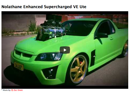 Nolathane Enhanced Supercharged VE Ute