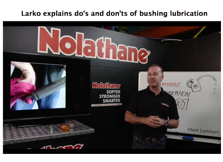 Larko Explains the Do's and Don'ts of Bushing Lubrication