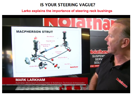 Larko Explains the Importance of Steering Rack Bushings